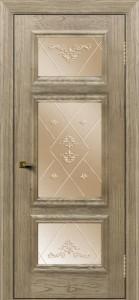 Двери ЛайнДор Афина тон 41 стекло Прима бронза