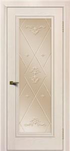 Двери ЛайнДор Валенсия тон 27 стекло Прима бронза