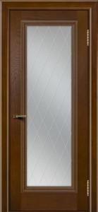 Двери ЛайнДор Валенсия тон 30 стекло Лондон