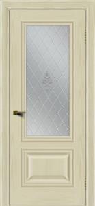 Двери ЛайнДор Виолетта тон 34 стекло Лилия