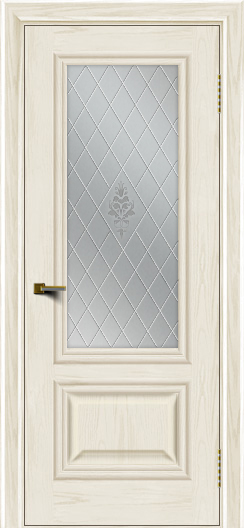 Двери ЛайнДор Виолетта тон 36 стекло Лилия
