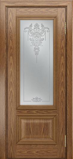 Двери ЛайнДор Виолетта тон 45 стекло Версаль