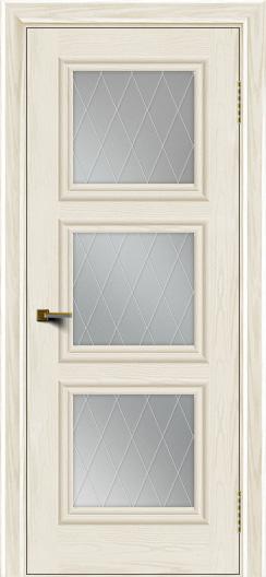 Двери ЛайнДор Грация тон 36 стекло Лондон
