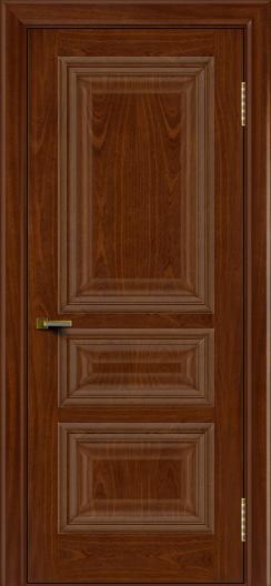 Двери ЛайнДор Агата красное дерево тон 10 глухая