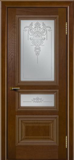 Двери ЛайнДор Агата тон 30 стекло Версаль