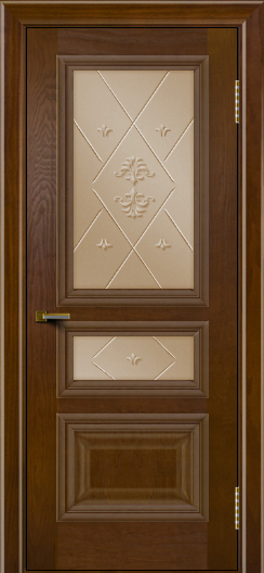 Двери ЛайнДор Агата тон 30 стекло Прима бронза