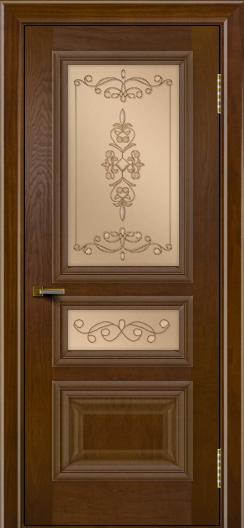 Двери ЛайнДор Агата тон 30 стекло Эрика
