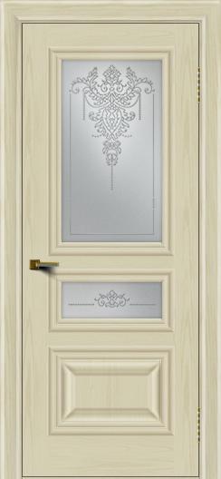 Двери ЛайнДор Агата тон 34 стекло Версаль