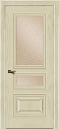 Двери ЛайнДор Агата тон 34 стекло Лондон бронза