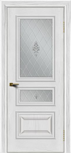 Двери ЛайнДор Агата тон 38 стекло Лилия