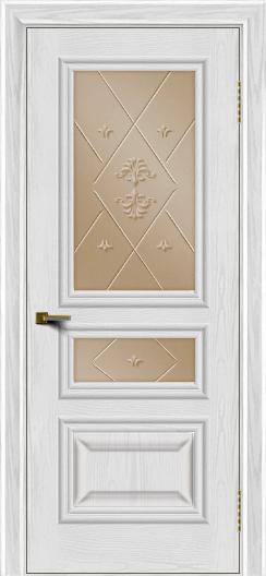 Двери ЛайнДор Агата тон 38 стекло Прима бронза