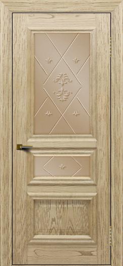 Двери ЛайнДор Агата тон 40 стекло Прима бронза