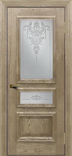 Двери ЛайнДор Агата тон 41 стекло Версаль