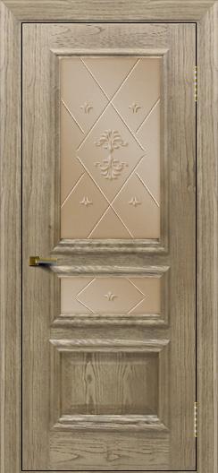 Двери ЛайнДор Агата тон 41 стекло Прима бронза