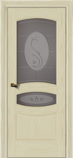 Двери ЛайнДор Алина тон 34 стекло Алина бронза