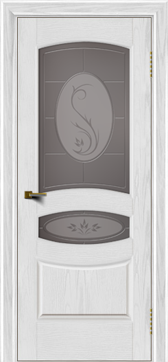 Двери ЛайнДор Алина тон 38 стекло Алина бронза
