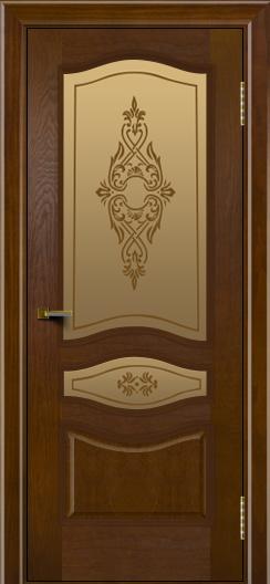 Двери ЛайнДор Амелия тон 30 стекло Айрис
