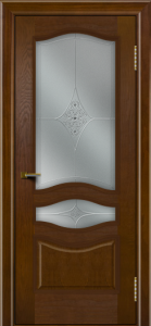 Двери ЛайнДор Амелия тон 30 стекло Амелия