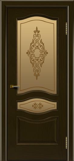 Двери ЛайнДор Амелия тон 35 стекло Айрис