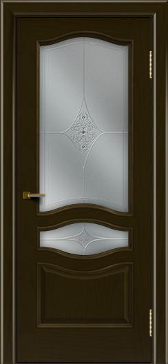 Двери ЛайнДор Амелия тон 35 стекло Амелия