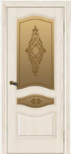 Двери ЛайнДор Амелия тон 36 стекло Айрис