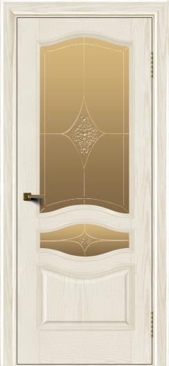 Двери ЛайнДор Амелия тон 36 стекло Амелия бронза