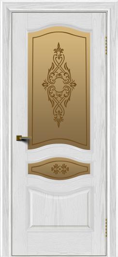 Двери ЛайнДор Амелия тон 38 стекло Айрис