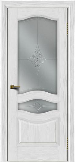 Двери ЛайнДор Амелия тон 38 стекло Амелия
