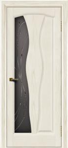 Двери ЛайнДор Анжелика 2 тон 36 стекло Анжелика