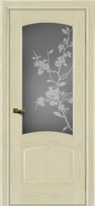 Двери ЛайнДор Анталия тон 34 стекло Сакура