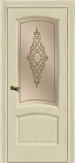 Двери ЛайнДор Анталия 2 тон 34 стекло Айрис бронза