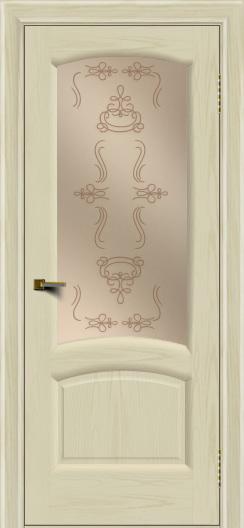 Двери ЛайнДор Анталия 2 тон 34 стекло Пальмира бронза
