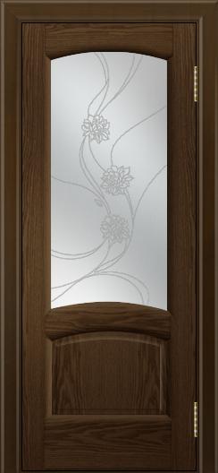 Двери ЛайнДор Анталия 2 тон 35 стекло Астра наливка