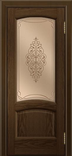 Двери ЛайнДор Анталия 2 тон 35 стекло Вива