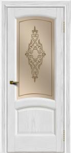 Двери ЛайнДор Анталия 2 тон 38 стекло Айрис бронза
