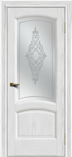 Двери ЛайнДор Анталия 2 тон 38 стекло Айрис сатин