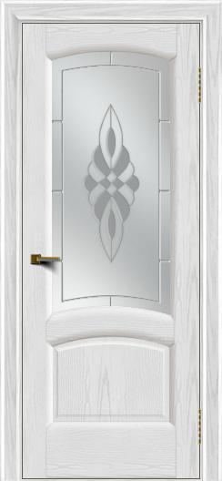 Двери ЛайнДор Анталия 2 тон 38 стекло Византия