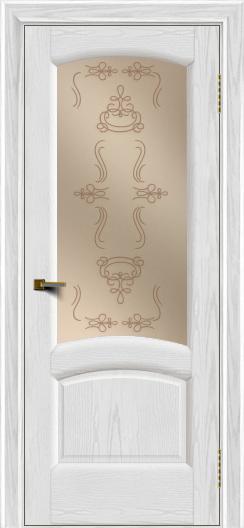 Двери ЛайнДор Анталия 2 тон 38 стекло Пальмира бронза
