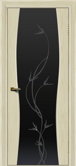 Двери ЛайнДор Арабика тон 34 стекло Флора