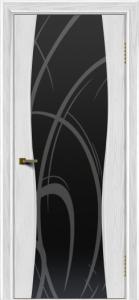 Двери ЛайнДор Арабика тон 38 стекло Арабика