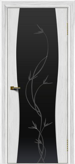 Двери ЛайнДор Арабика тон 38 стекло Флора