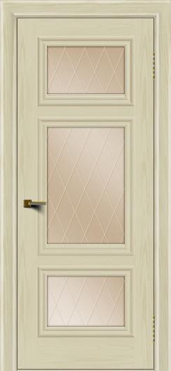 Двери ЛайнДор Афина тон 34 стекло Лондон бронза