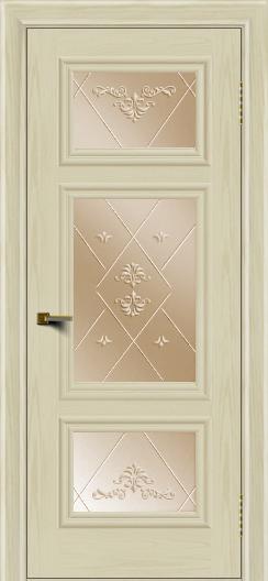 Двери ЛайнДор Афина тон 34 стекло Прима бронза