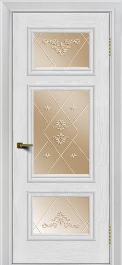 Двери ЛайнДор Афина тон 38 стекло Прима бронза