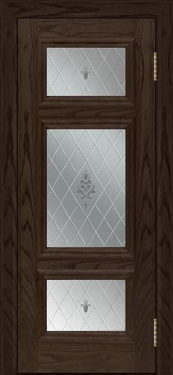 Двери ЛайнДор Афина тон 39 стекло Лилия