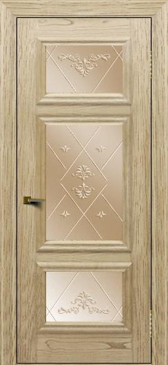 Двери ЛайнДор Афина тон 40 стекло Прима бронза