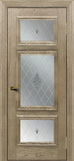 Двери ЛайнДор Афина тон 41 стекло Лилия