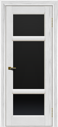 Двери ЛайнДор Афина 2 тон 38 стекло черное полное