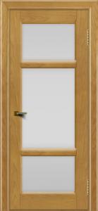 Двери ЛайнДор Афина 2 ясень тон 24 стекло белое полное