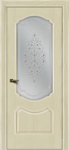 Двери ЛайнДор Богема тон 34 стекло Вива сатин